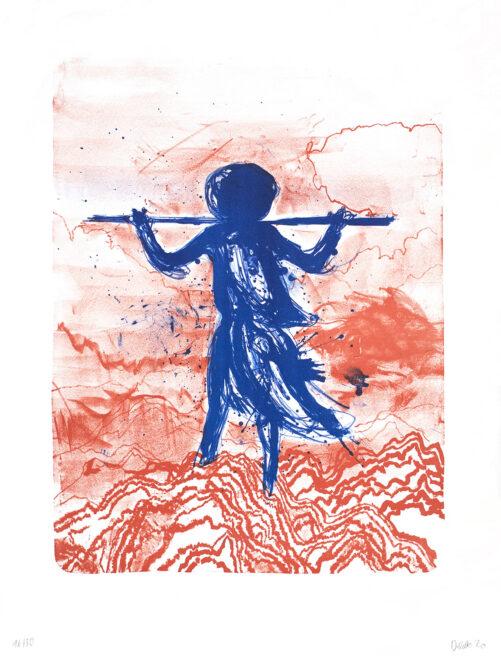 Daniel Richter, Storm blau