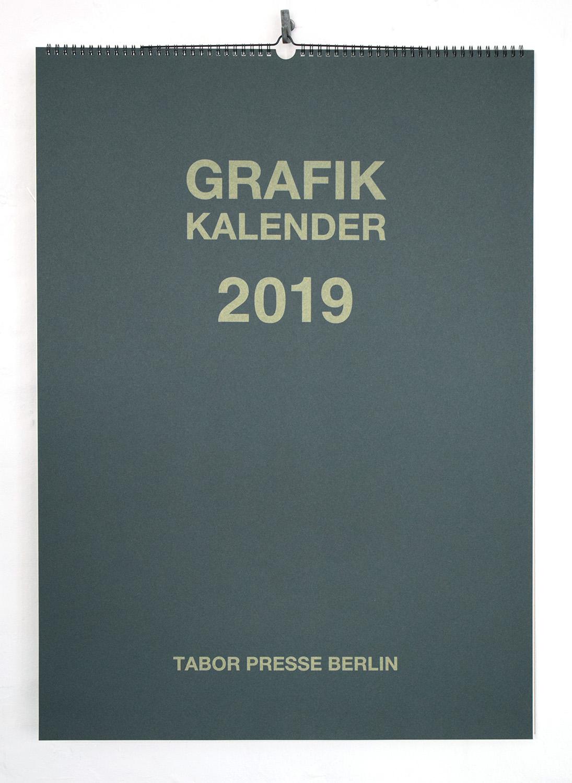 grafik kalender 2019 tabor presse berlin. Black Bedroom Furniture Sets. Home Design Ideas